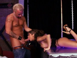 On stage Porn august fucked pornstar hot stage night