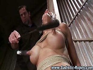 Bizarre Bondage Bitch Gets...