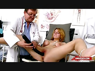 Natural tits doctor gaping...