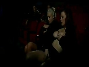 Picture Two Horney Girlfriends In A XXXTheater