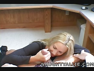 Naughty Allie Has An...