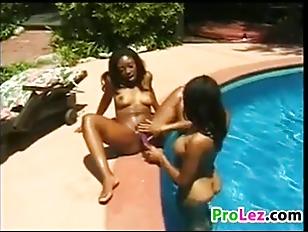Black outdoor porn
