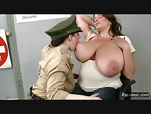 Nadine Jansen Angela White BBW Lesbian Porn