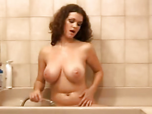 Sugar Tits Take Shower...
