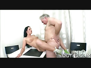 Picture Hot Young Babe Banged By Old Guy