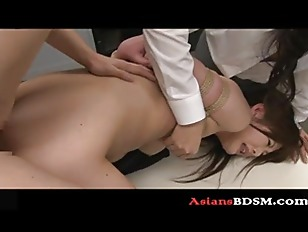 Picture Asian Hottie Bounded And Fucked P1