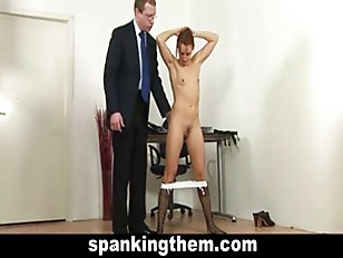 Picture Spanking Lesson For College Girl