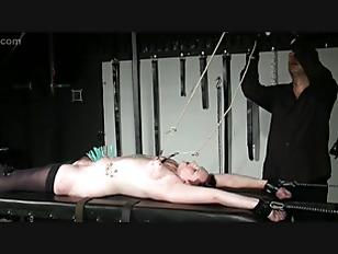 Racked Amateur Slave In...