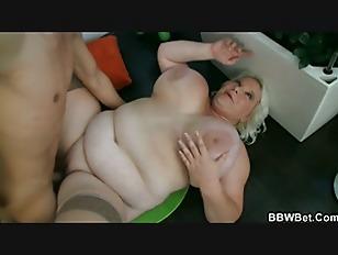 Big Tits Blonde Plumper...