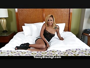 TeenyBlack - Ebony Creampie Surprise...