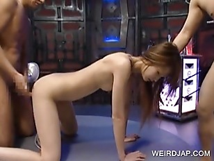 Asian Slave Fucking Cock...
