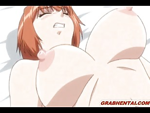 Chained hentai babe with huge rack