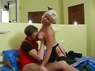 Long Grey Hair Porn Glasses - Silver Hair Mature with Glasses and Stockings