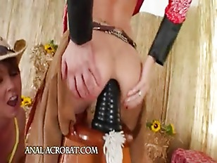 Picture Brutal Butthole Threesome With Cowboy