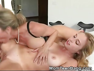 Picture Blonde MILF And Young Girl 18+ Girl Swapping...