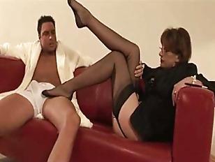 Mature Slut Indulges Fetish...
