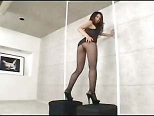 Pantyhose Heels Show And...