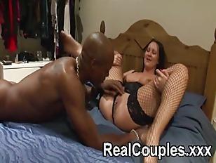 Picture Black Dude Spanks Then Licks A Smaller White...