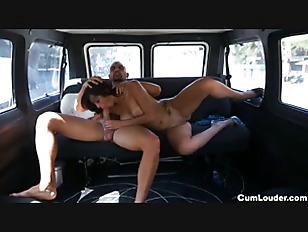 Picture Horny Spanish Brunette Getting Fucked In Mot...