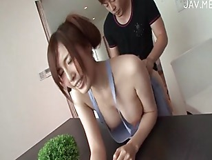 jap sexy housewife sex in kitchen