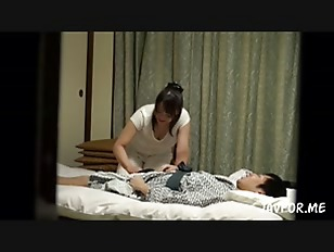 Picture A Real Massage In Japan