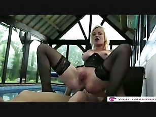 Cute French Blonde Assfucked...