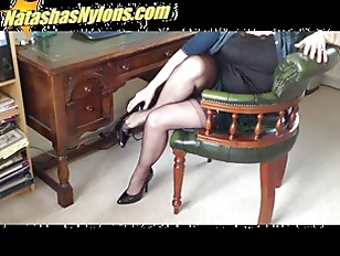 Blonde Slut Secretary In...