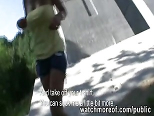 Picture Hottie MILF Had A Nice Public Sex And Cumsho