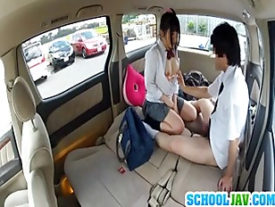 Picture Japanese Schoolgirl Enjoys Sex In A Car