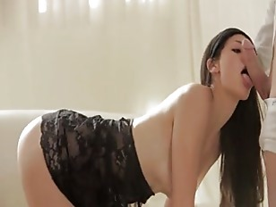 black super model porn - Supermodel pornstar in black lingerie