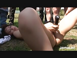 Picture Cute Girl Outdoor Gangbang Play