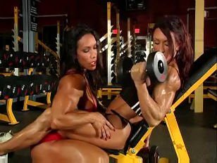 Picture Muscular Woman