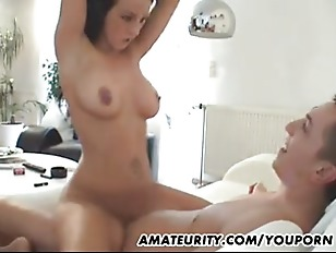 Busty Amateur Babe Fucked...