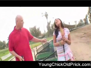 Picture Old Golfer Fucks Young Hottie