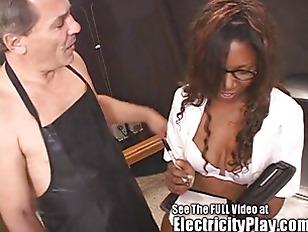 Black Slut Assistant Electrocuted...