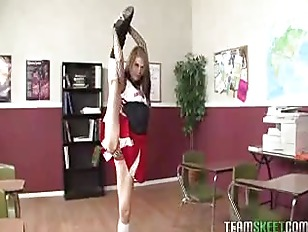InnocentHigh Young Skinny Cheerleader...