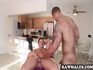 Picture Muscular Ebony Hunk Getting Fucked Hard Anal...