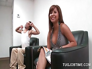 Busty Redhead Tramp Auditioning...