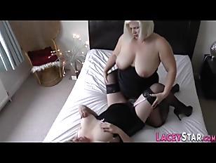 British grandma gets fucked in orgy