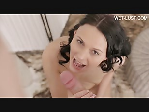 Brunette Young Babe Anal...