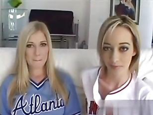 Blond amateurs Corina Davis and Michelle B