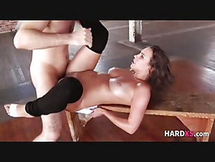 Sweaty Dancer Gets Fucked...