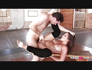 Sweaty Dancer Gets Fucked...