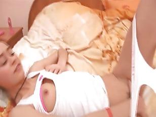 Russian Girlfriend Natasha Undressing...