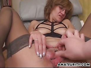 Hot big tit pussy