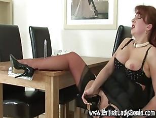 Picture Nasty Mature Fetish Slut Uses Heel