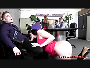 Ryan Smiles Office Fling...