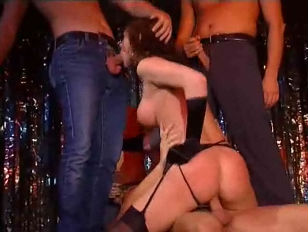 Picture Stage Gangbang
