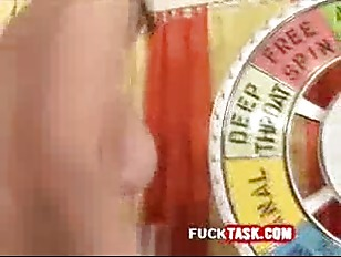Picture Sex Gameshow Ass Leaking White Stuff