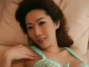Busty Asian whore fucked and jizzed
